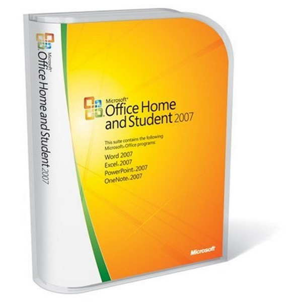 Microsoft Office Home and Student 2007 English